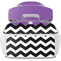 Skin For DJI Goggles – Purple Chevron | MightySkins Protective, Durable, and Unique Vinyl Decal wrap cover | Easy To Apply, Remove, and Change Styles | Made in the USA