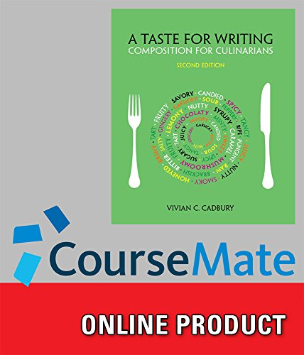 coursemate-for-cadburys-a-taste-for-writing-composition-for-culinarians-2nd-edition