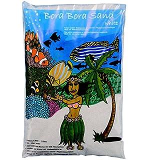 Bora - Arena blanca para fondos de acuarios de agua de mar