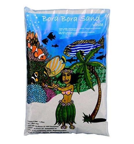 Bora - Arena blanca para fondos de acuarios de agua de mar: Amazon.es: Productos para mascotas