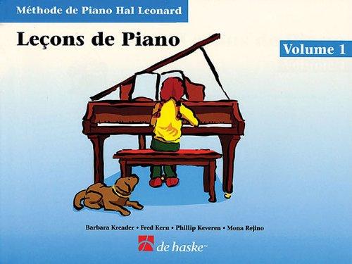 Piano Lessons Book 1 - French Edition: Hal Leonard Student Piano Library (Method De Piano Hal Leonard) (Methode De Piano Hal Leonard)