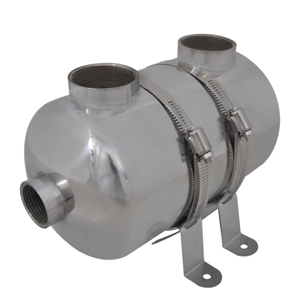 vidaXL Intercambiador Calor Calentador Piscina 28 Kw Calefactor Agua Jacuzzi: Amazon.es: Jardín