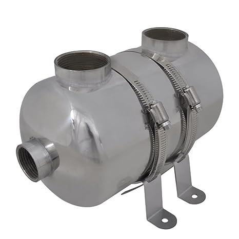 vidaXL Intercambiador Calor Calentador Piscina 28 kW ...