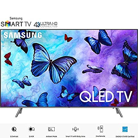 "Samsung QN55Q6FN 55""-Class QLED Smart 4K UHD TV (2018 Model) (Certified Refurbished) - 51KUQat 2BaBL - Samsung QN55Q6FN 55in-Class QLED Smart 4K UHD TV (2018 Model) (Renewed)"