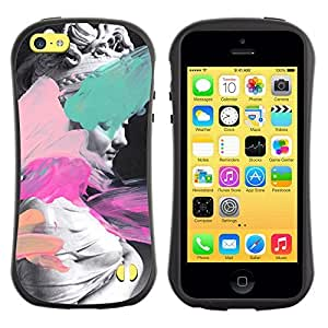 Be-Star Colorful Printed Design Anti-Shock Iface First Class Tpu Case Bumper Cover For Apple iPhone 5C ( statue art Venus Aphrodite paint ancient woman ) Kimberly Kurzendoerfer