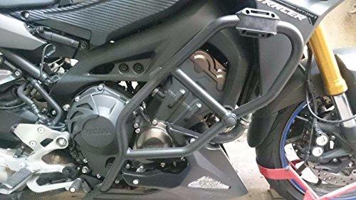 XX eCommerce Motorcycle Motorbike Black Crash Protection Bar Engine Guard Frame Protector for 2015-2016 Yamaha MT FZ FJ 09 15-16