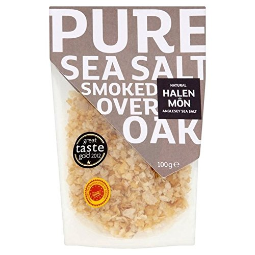 Halen Mon Sea Salt - Halen Mon Oak Smoked Sea Salt PDO 100g
