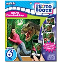 Photo Booth Giant Dinosaur Backdrop Almost 6 feet tall