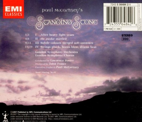 Paul McCartney's Standing Stone by EMI Classics