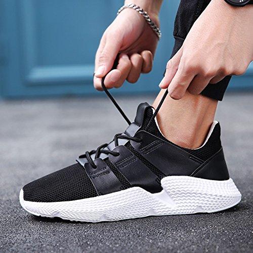 Deportes Ocio Aire Zapatos Inferior de Primavera los Verano y Aumentar C de de Espesor la Hombres Placa y los Libre de al Zapatos w18TqHn