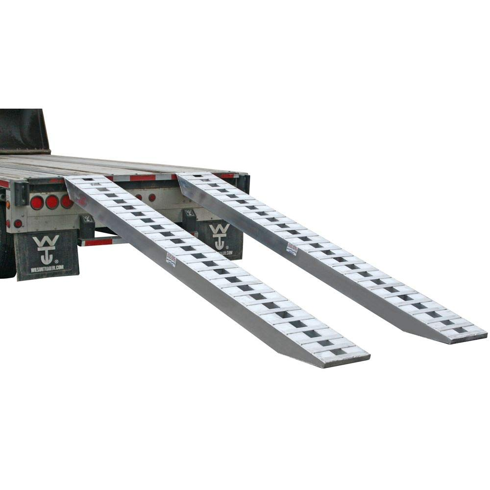 Rage Powersports 144 Heavy Duty Hook-End 12,000 lb Capacity Skid Loader Tractor Ramps