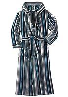 KingSize Men's Big & Tall Terry Velour Hooded Maxi Robe