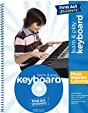 Learn and Play Keyboard (Instructional Booklet & CD only) from First Act Discovery