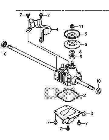 amazon manual transmission seals automotive input shafts John Deere L130 Transmission Diagram honda 20001 vl0 s00 replaces 20001 vl0 p00 transmission assembly