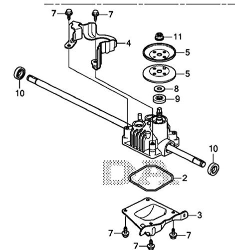 Honda 20001-VL0-S00 ( replaces 20001-VL0-P00) Transmission Assembly; Made by Honda