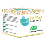 Bleaching Hair Uneven - Vegetal Papaya Face Pack 50 Gms White