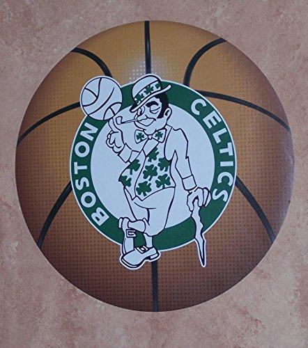 - FATHEAD Boston Celtics Team Basketball Logo Official NBA Vinyl Wall Graphic 11