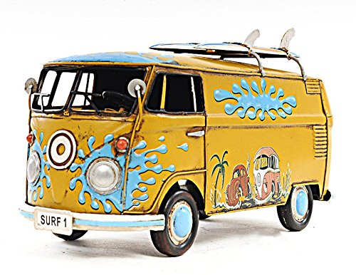 1967 Bus Tin Metal Car Model 12