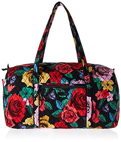Women's Large Duffel, Signature Cotton, Havana Rose from Vera Bradley