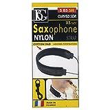 BG S85SH Curved Soprano Saxophone Nylon Strap, Size XS