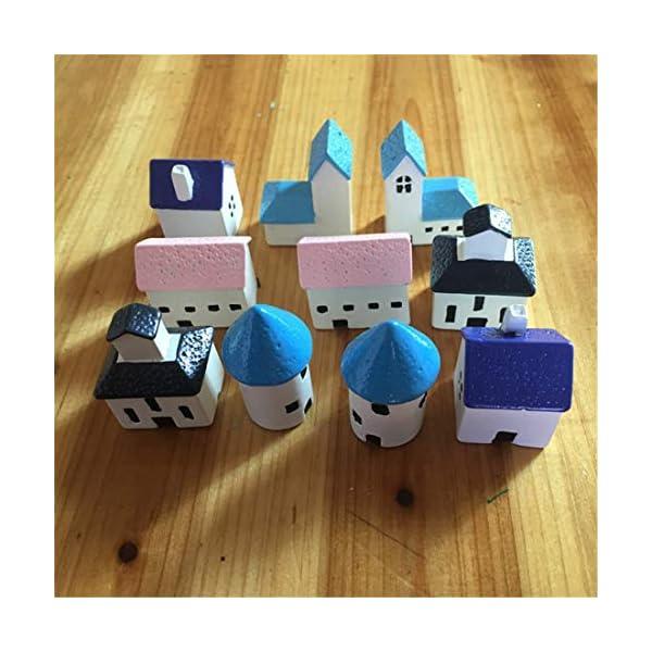 Molinter Mini Decorazione da Giardino Castello casa Bambola Micro Paesaggio Ornamento in Resina per casa delle Bambole… 2 spesavip