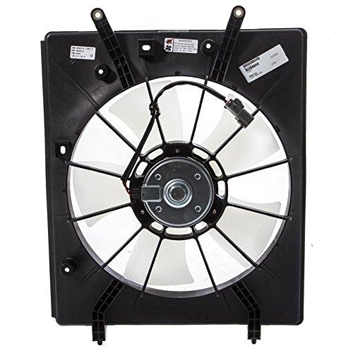 Cooling Auto Motor Shroud Fan (CarPartsDepot 2001 2002 ACURA MDX COOLING FAN BLADE+MOTOR+SHROUD 2003 2004 PILOT DRIVER SIDE)