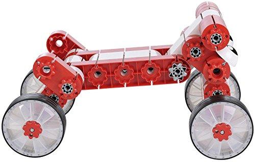 Kiditec Multi-Car Red Building Kit