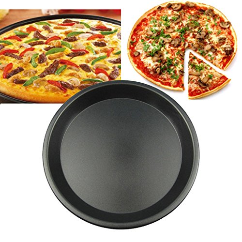 Tray Baking tray Pizza baking tray Not sticky Round pizza Pizza plate 5/6/7/8/9/10 inches Cookware