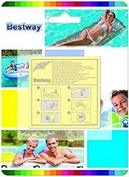 Kit Bestway 10 Adesivos De Reparo para Piscina Colchão Bote #62068
