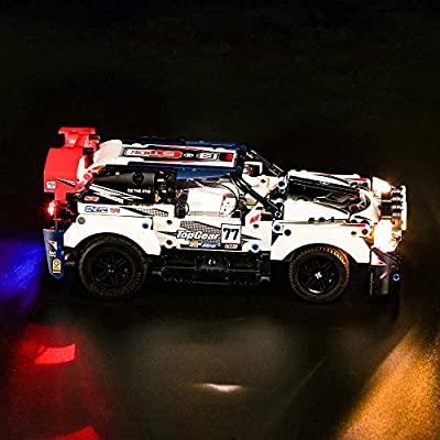 Vonado Lighting Kit for App-Controlled Top Gear Rally Car 42109 Racing Toy Technic to Friends Children(Lights Only): Toys & Games
