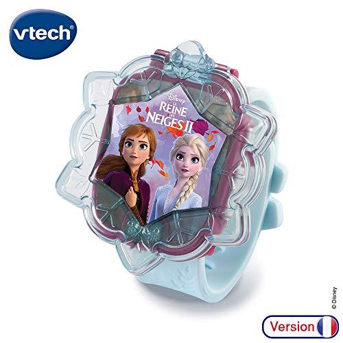 , VTech – Reine des Neiges 2 – La montre-jeu interactive d'Elsa – montre enfant éducative