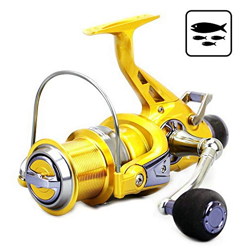 (SONADY Fishing Reels KM50/60 11BB Brake Fishing Reel G-Ratio 5.2:1 Fly Fishing Reel Carp Feeder Spinning Fishing Reels -)