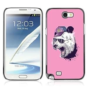 YOYOSHOP [Cool Panda ] Samsung Galaxy Note 2 Case