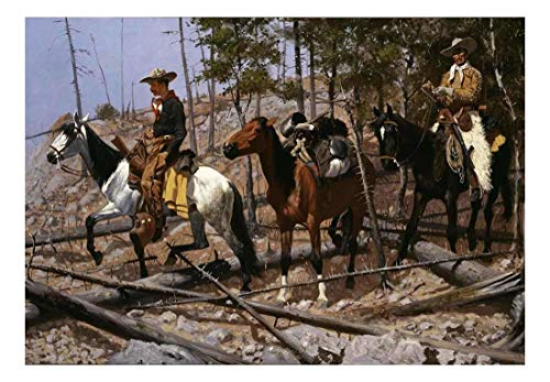 Cowboy mural the best amazon price in savemoney.es