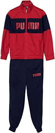 Puma CHÁNDAL NIÑO Rebel Suit B Rojo/Azul Talla 152: Amazon ...