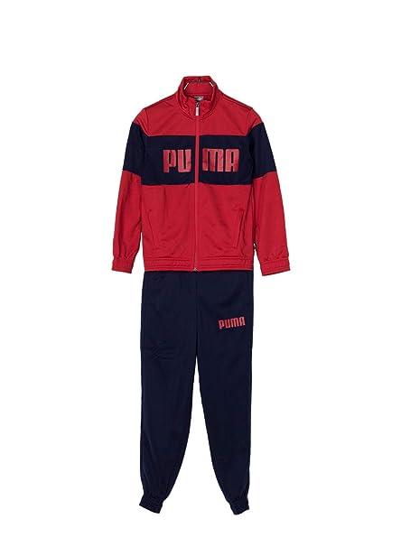 Puma CHÁNDAL NIÑO Rebel Suit B Rojo/Azul Talla 140: Amazon.es ...