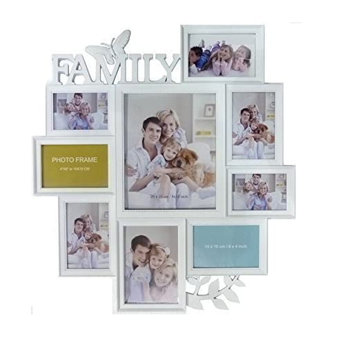 Family White Picture Frames: Amazon.co.uk