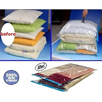 Amazon.com: 8 PACK Space Saver Vacuum Storage Bags Medium size (28 ...