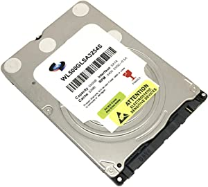 MaxDigitalData 500GB 32MB Cache 5400RPM 7mm SATA 6.0Gb/s 2.5in Notebook Hard Drive (MD500GLSA3254S) - 2 Year Warranty