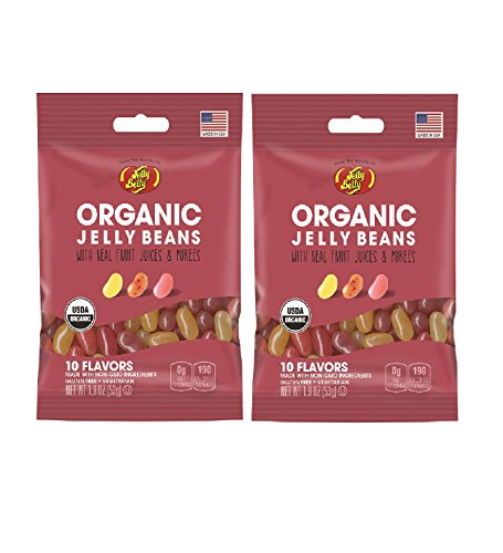Jelly Belly Organic Jelly Bean Assorted 1.9oz