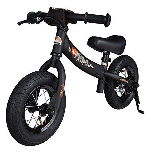 bikestar 10 pouces v lo draisienne pour enfants edition sport couleur noir le. Black Bedroom Furniture Sets. Home Design Ideas