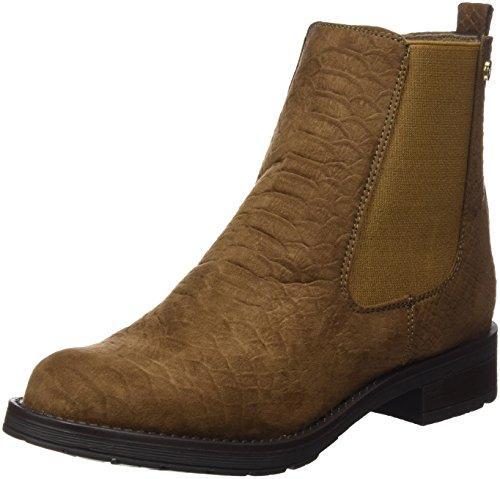 XTI Women's Botin SRA. Antelina Taupe,Chelsea Boots Taupe