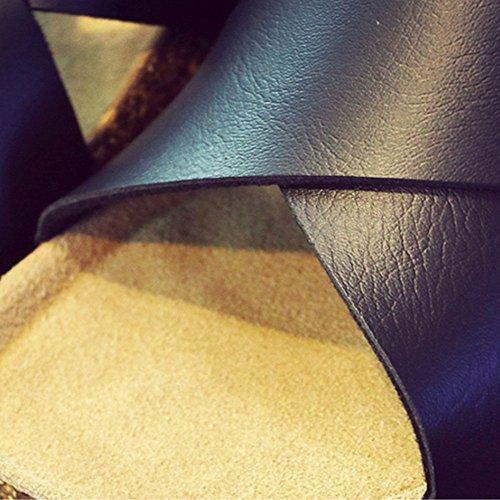 nero ZHANGRONG UK4 bianco Pantofole Colore uomoComfort da dimensioni Scarpe CN37 EU37 casual 5 C A Colore 5 0dqwRp