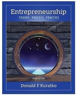 Entrepreneurship Theory Process Practice Pdf