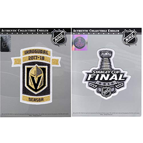 2018 Stanley Cup Final & NHL Vegas Golden Knights Inaugural Season Patch Combo ()
