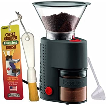 Amazon Com Bodum Bistro Electric Burr Coffee Grinder
