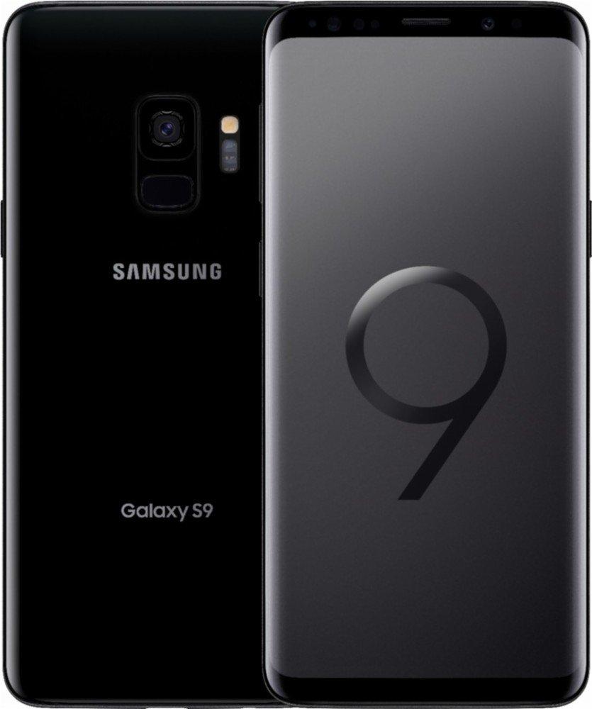 "Samsung Galaxy S9 Sm-G9600 Dual Sim 5.8"" Super Amoled, 64GB, 4 GB RAM, Factory Unlocked - No Warranty Midnight Black"