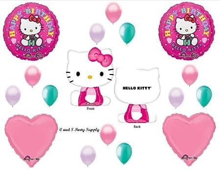 Hello Kitty XL cumpleaños fiesta globos de imágenes de Belén ...