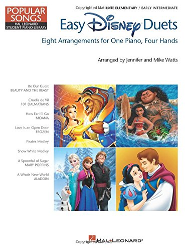 Easy Disney Duets - Popular Songs Series: Late Elementary/Early Intermediate Level (Hal Leonard Student Library: Popular Songs)