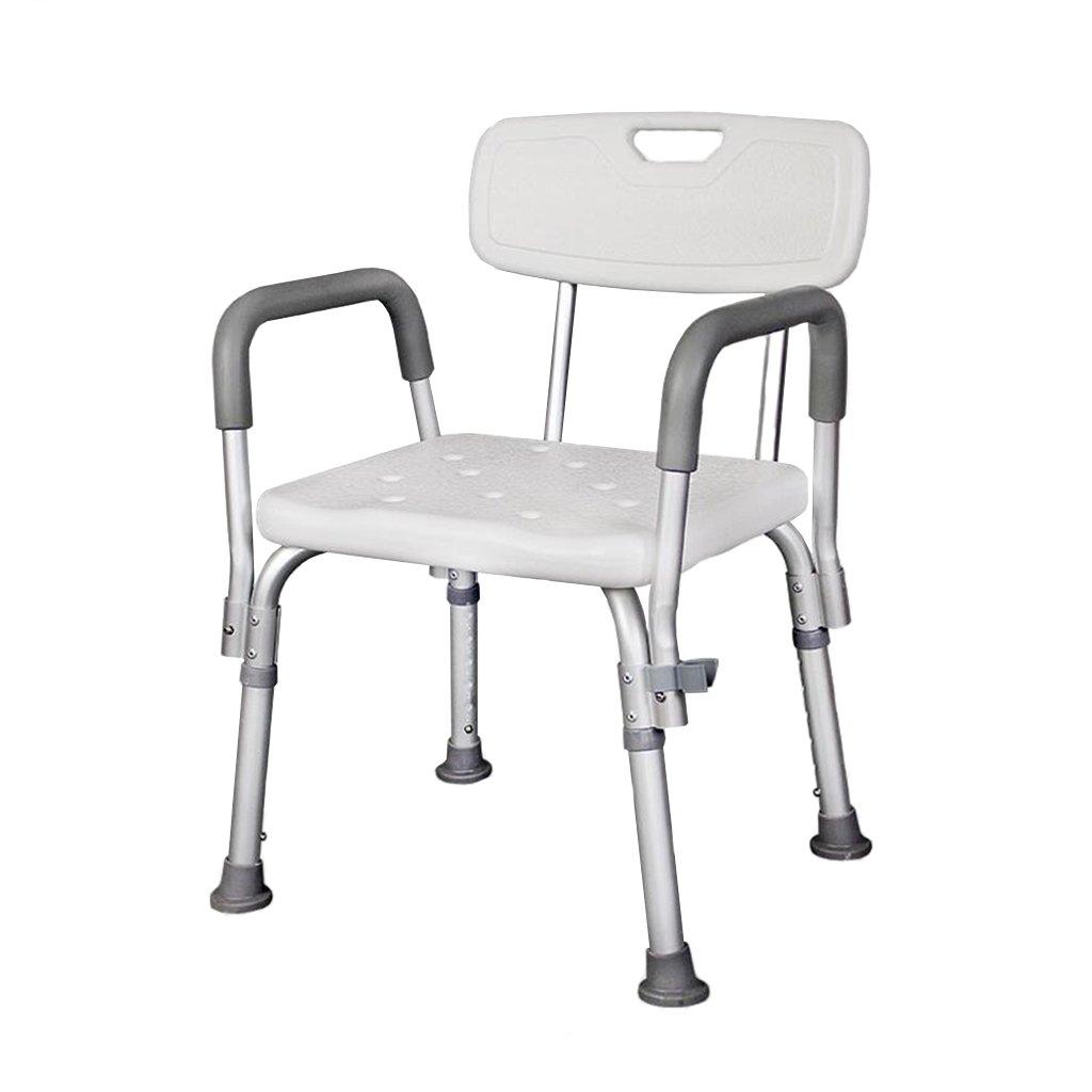 シャワーの椅子古いシャワーのスツールアルミ合金滑り止めのバスルームのバスのスツールのバスチェア妊娠中の女性の水着のスツール (サイズ さいず : C) B07DFGJV4Q   C